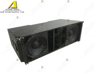 J8 Array Speaker J8 Double 12 Inci Tiga Cara Speaker Sistem Suara J8 Tinggi Power Audio Systemr Outdoor Aktif sistem Suara