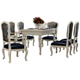 American furniture classica solid wood table and chair set