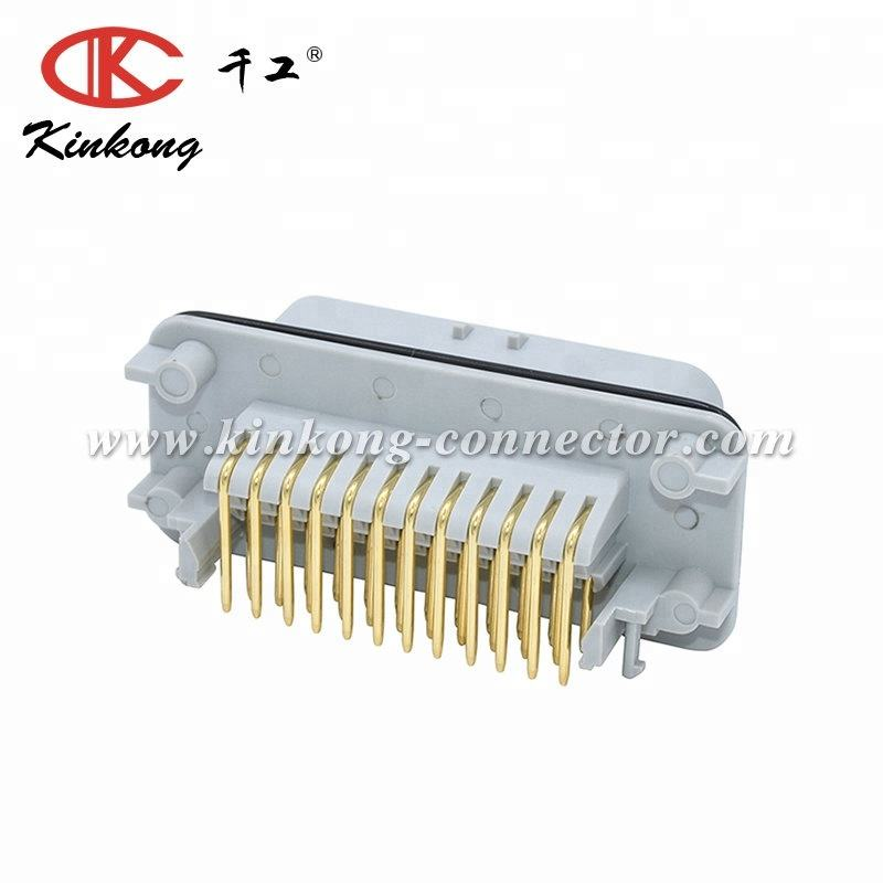 AMP Seal 35 pins male Gold-Plated Fire retardant connector