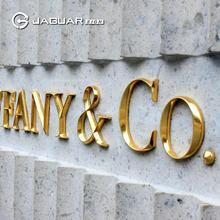 UK standard custom gold advertising decoration metal wall letters