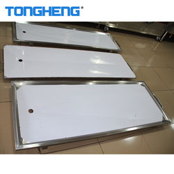Simple Hospital Equipment Stainless Steel Trolley For Dead Body