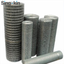 "galvanuzed welded mesh 1""x1"" 19 gauge light welded stainless steel  wire mesh for anti-slip boardwalk surface"