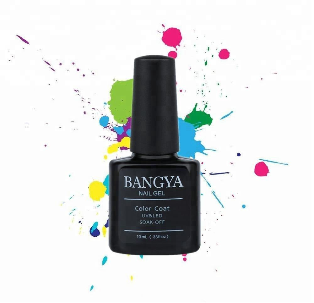 BangYa di Arte Del Chiodo 10 ml Bottiglia 3 Step Soak Off Led Uv Gel Polish per Ottenere Gel Manicure