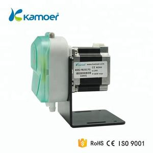Kamoer KDS 24V mini stepper motor small circulating water pump high efficiency peristaltic pump big flow 5~265ml/min