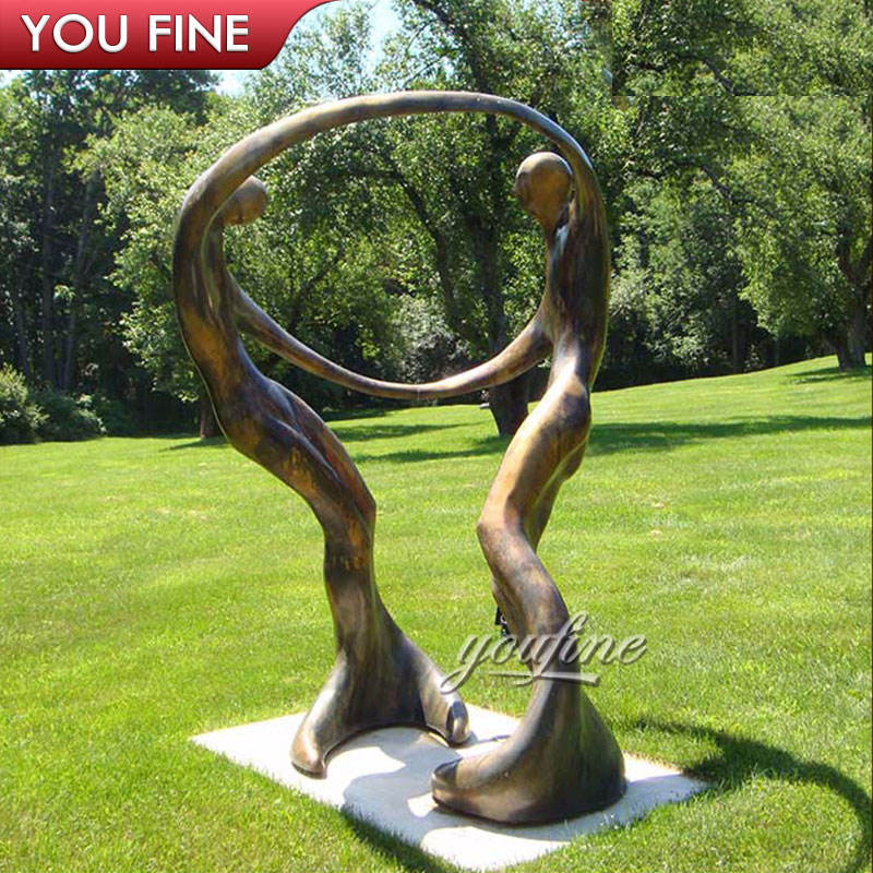 Bob Wilfong Famous Bronze Sculpture Dance of Love, Dance of Life