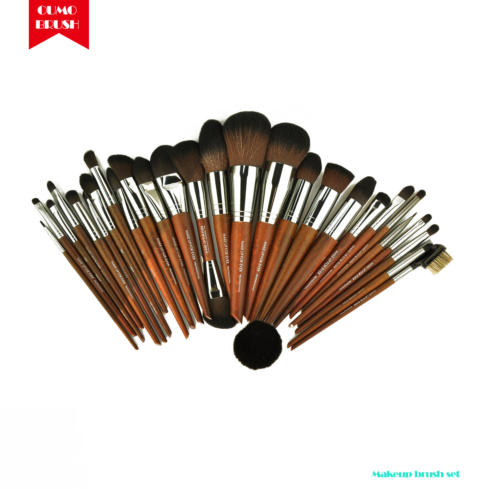 OUMO-High quality 35 makeup brush set professional makeup artist preferred forever makeup brushes private label