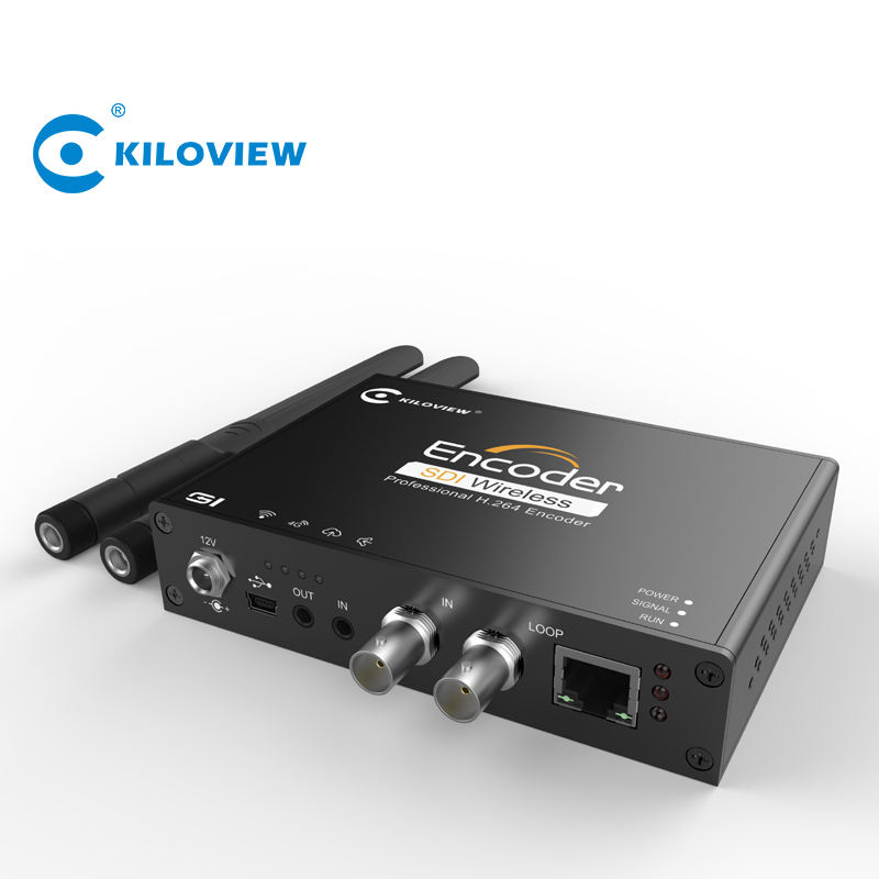 China factory 4g wifi h 264 sdi to rtmp rtsp srt live streaming video to ip encoder