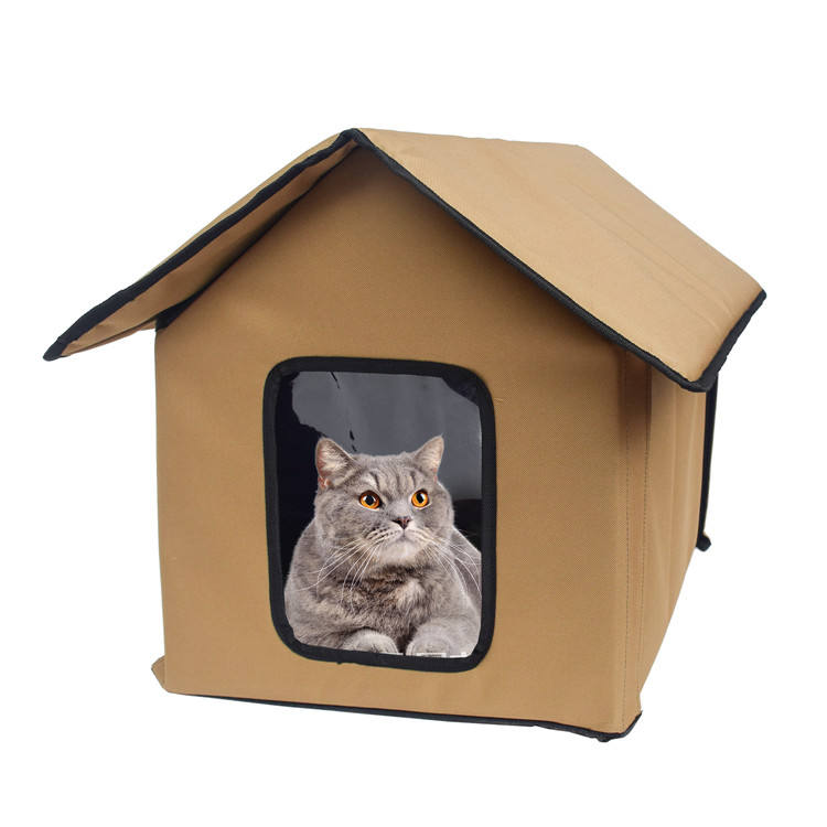 Portable Foldable Outdoor Indoor Pet Cat House for Kitty and Puppy