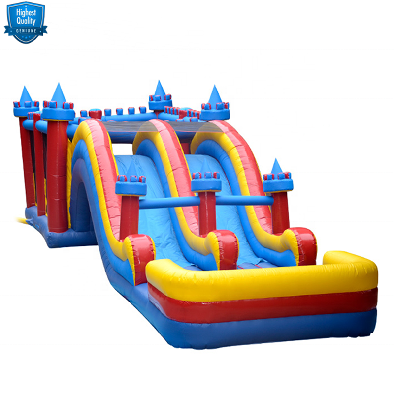 S427A New Fashion PVC AAA Qualified Custom 30 Meters Long Inflatable Water Slide Supplier from China