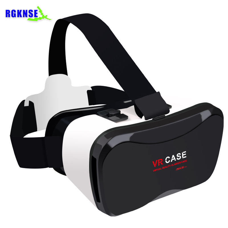 Rgknse VR Case 5 Plus headset vr 3D Glasses for iPhone 8/8p Android Smartphone, OEM, LOGO printing