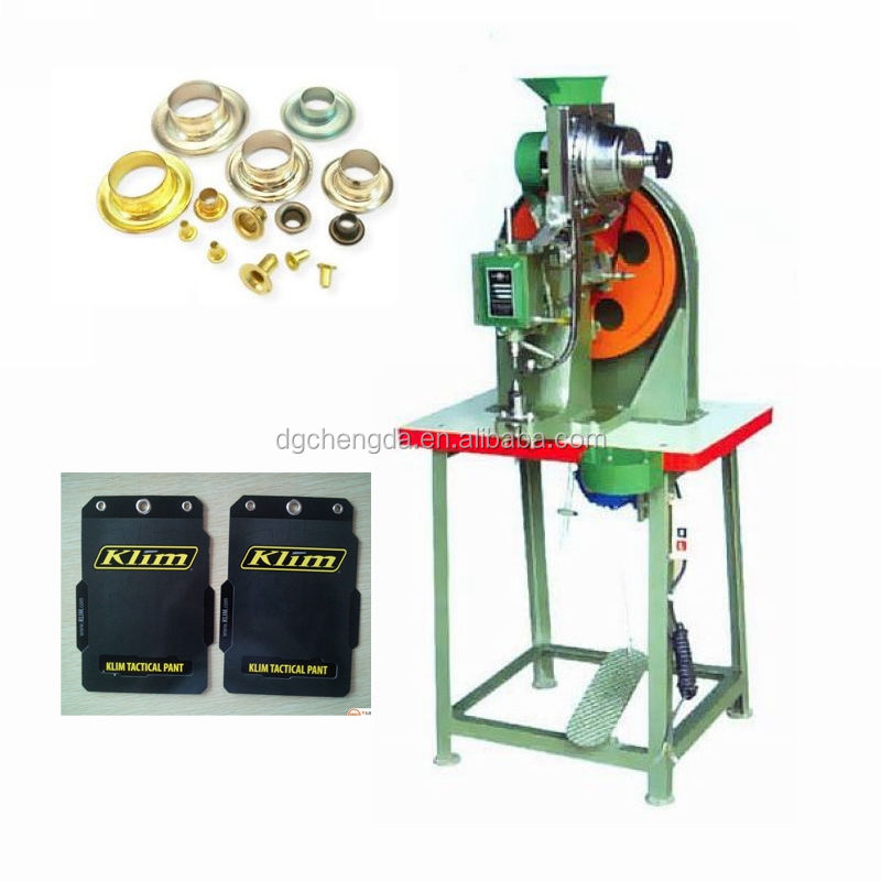 CD high quality semi-automatic eyelet machine