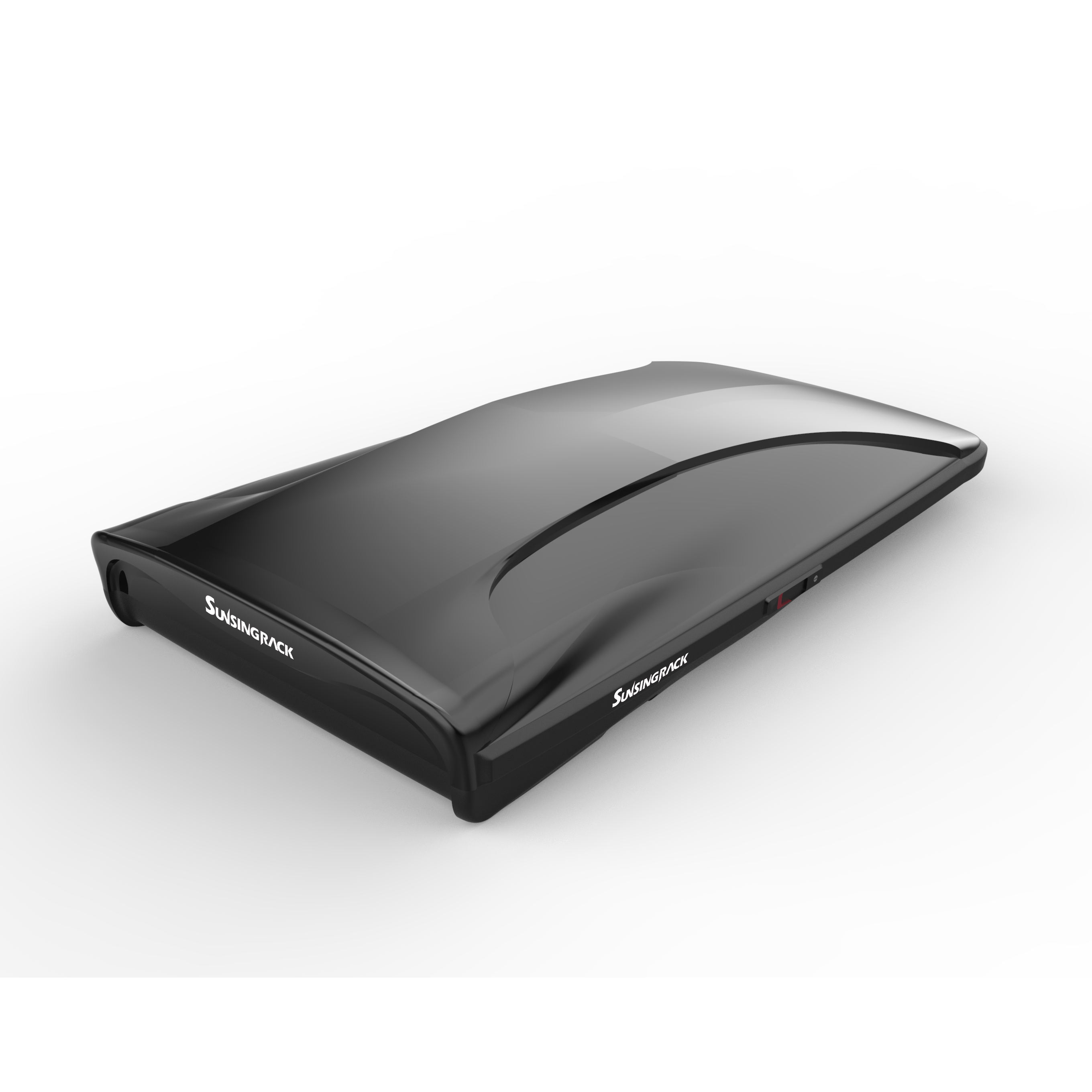 SUNSING NEW DESIGN HIGH QUALITY 450L SMOOTH PC+ABS CAR ROOF BOX