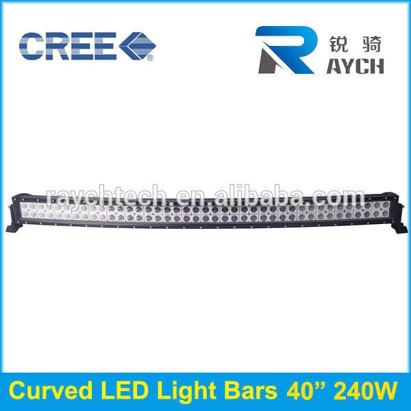 Meistverkauften <span class=keywords><strong>camping</strong></span> 4wd 42 zoll 240w c ree led-licht bar gebogenen offroad-lichtleiste