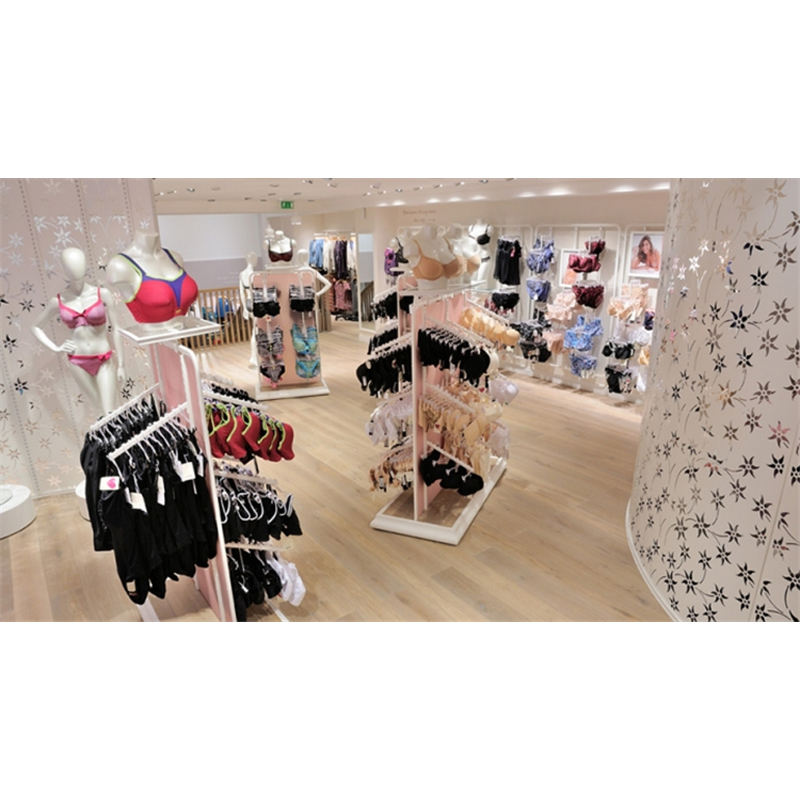 Store Fixture For Underwear Design Display Rack