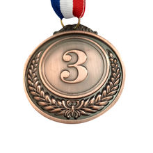 Cheap Custom Maker Running Blank Award Wholesale Sport Medal