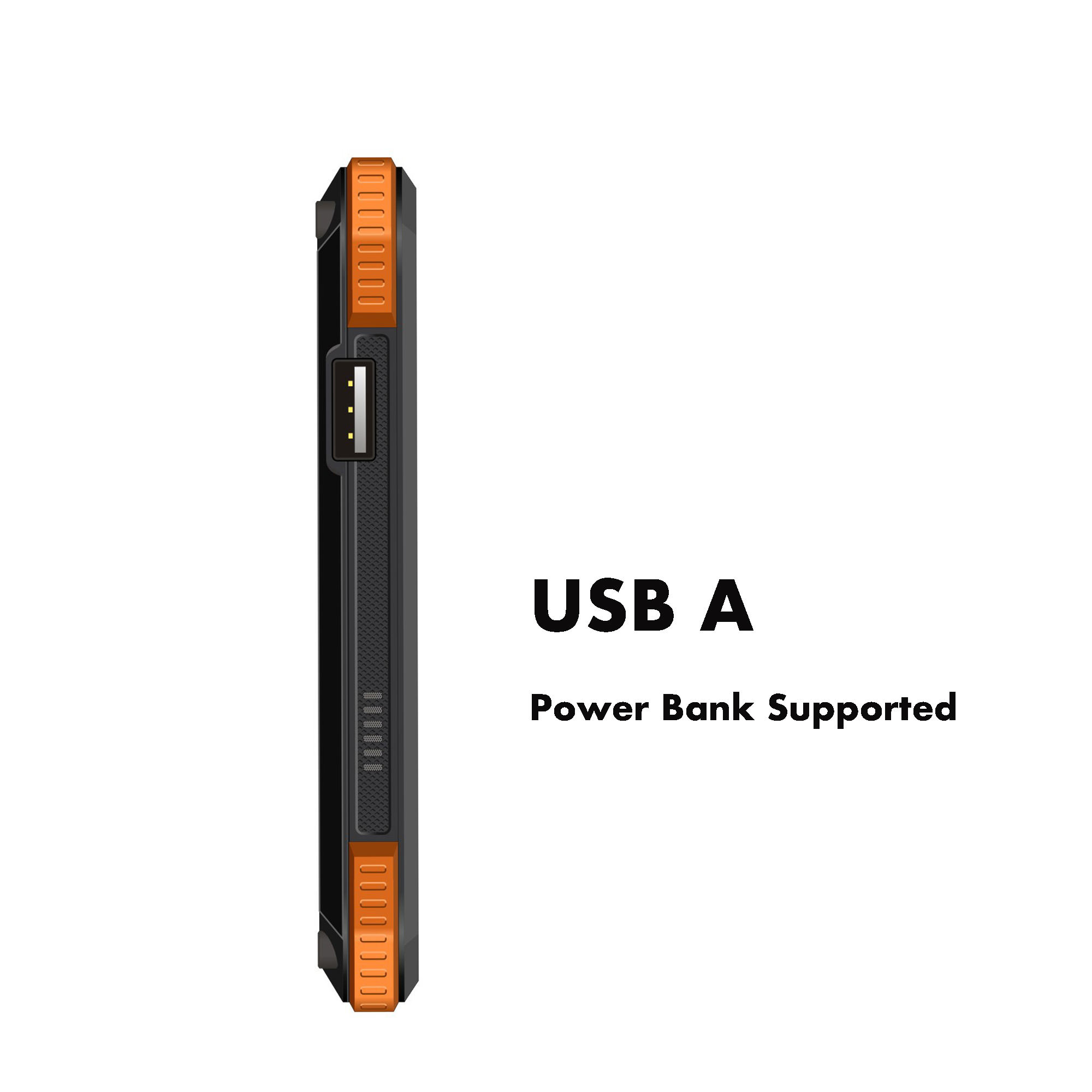 Grande bateria de 6500 mah power bank 7 polegadas robusto como 3g android 8.1 tablet pc 3D impressão