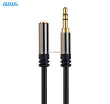 Jack 3.5 mm Male to Female Stereo Aux Cable Extension Cable 1m For Headphone/PC/DVD/TV/Car Audio Cable
