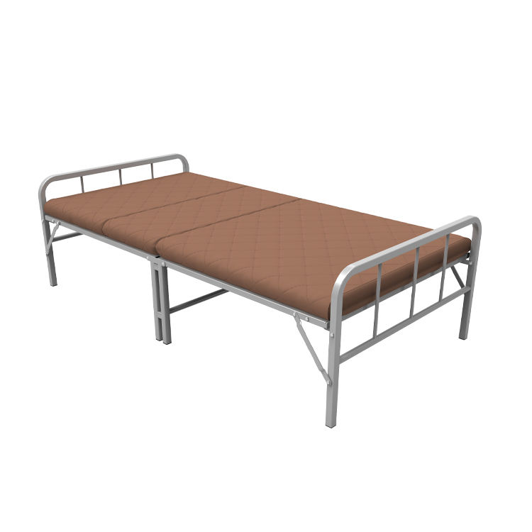 Manufacturer supply modern guest wooden adult folding bed single