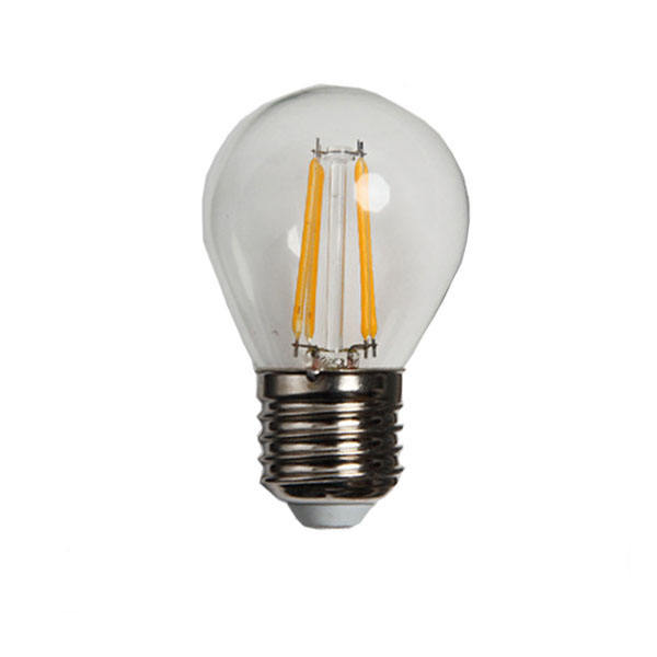 DC 230 V/110 V LED G45 Filament <span class=keywords><strong>lamp</strong></span> <span class=keywords><strong>E14</strong></span> 2 W 4 W G45 Edison led <span class=keywords><strong>lamp</strong></span> produceert in China