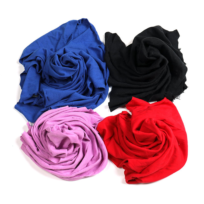 Mixed Color New Rag Recycle Organic Cotton Waste Home 100% Cotton White Textile Cotton