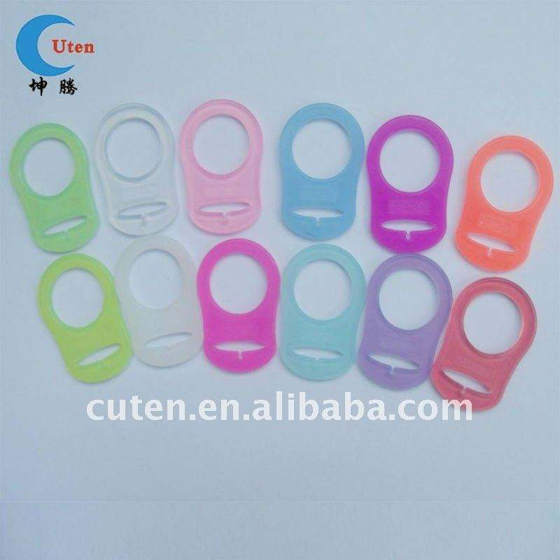 Nice Silicone Pacifier Holder Ring for MAM Adapter