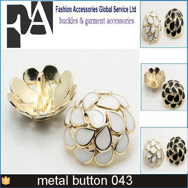 Cheap metal press snap fastener button for clothings