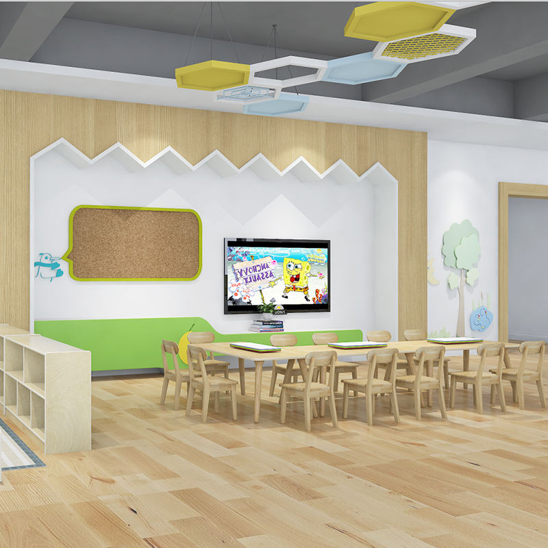 COWBOY kids learning center preschool furniture studying classroom layout solution