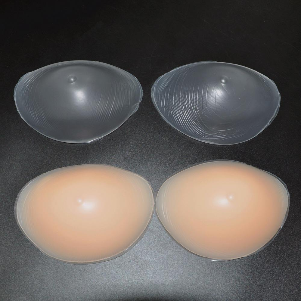 Women Silicone Bra Pads Push Up Bra Insert Transparent Skin Silicone Breast Enhancer Inserts For Dress Bikini Swimsuit