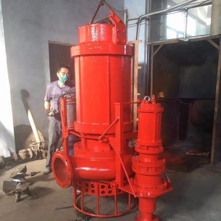 Abrasion Resistant Submersible Solid Slurry Transfer Pump