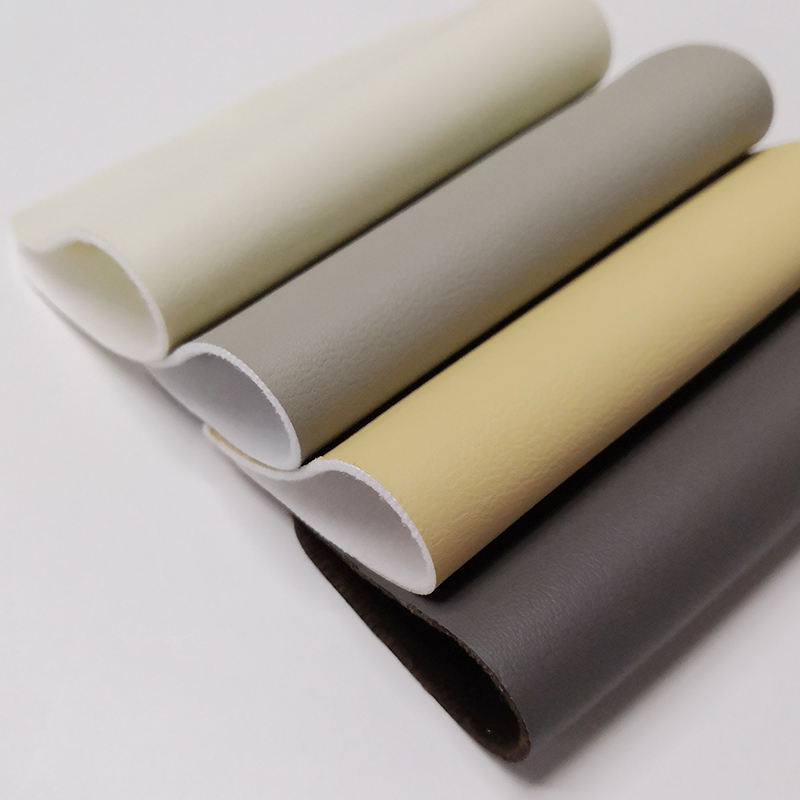 Recycled Imitation Pvc Pu Leather Fabric Price Pouch Suede Synthetic Artificial Washed Pu Pvc Leather For Makeup Bags