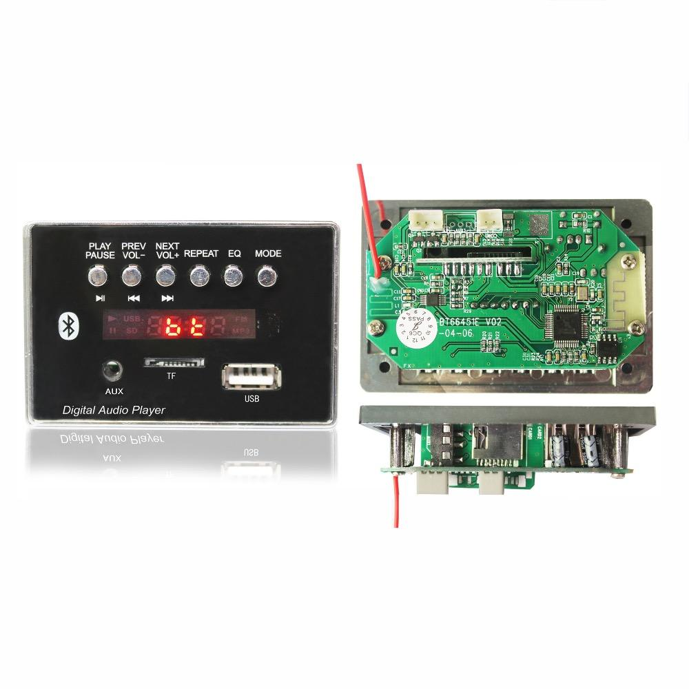 JLH Bluetooth Audio usb mp3 player pcb kit Receiver MP3 Decoder Board with EQ and repeat function