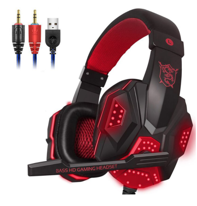 Di alta Qualità Plextone PC780 Stereo Bass Gaming Headset con Microfono