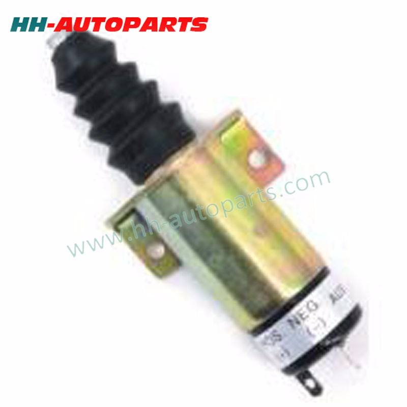 Engine Shut Off Solenoid 24V for Lister Petter with 2 terminals 366-07198, 1502-24 Shut Off Solenoid