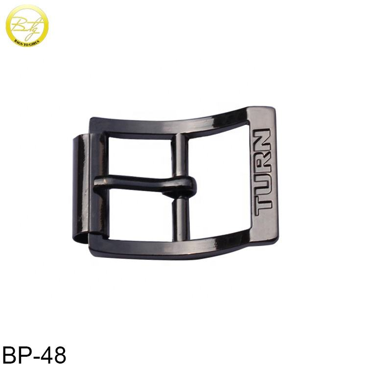 Leather handbag handle zinc alloy strap buckle metal pin buckle