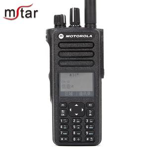 Motorola Resistente All'acqua IP57 Dual Band LED Digital Walkie Talkie con 1000 Canali GP338D
