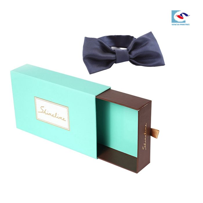 luxury man bow tie paper custom packaging gift boxes for tie
