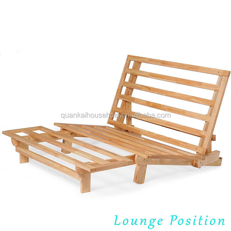 Bamboo Wooden Space Saving Sofa Bed