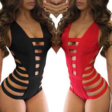2020 High Quality Strappy sexy Cutout One Piece Swimsuit For Women