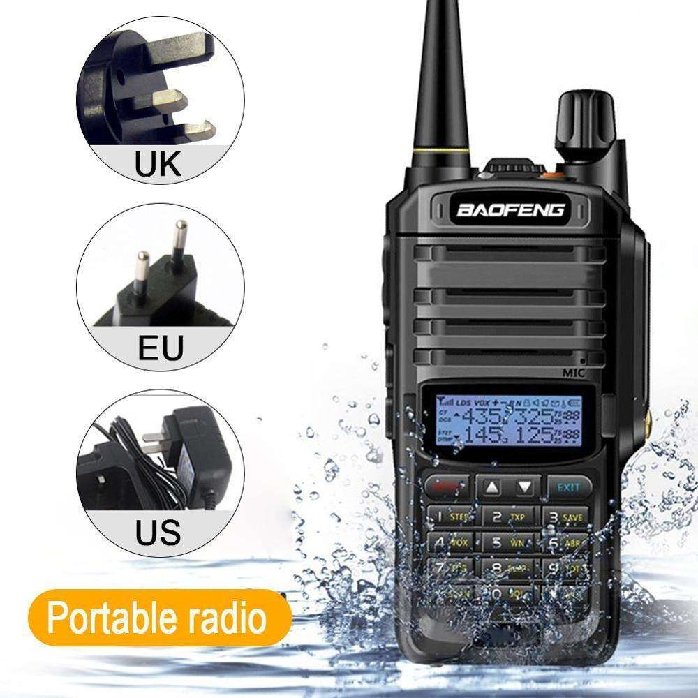 Baofeng UV-9R Plus Tahan Air Walkie Talkie <span class=keywords><strong>Radio</strong></span> CB 15W High Power VHF UHF Dual Band Handheld Dua <span class=keywords><strong>Cara</strong></span> <span class=keywords><strong>Radio</strong></span> 10Km Long Range