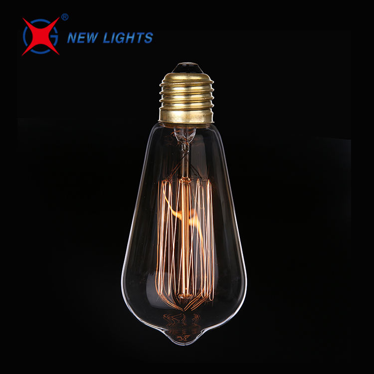Good Price 6-pack St64 40w E26 110v Dimmable Lights Vintage Edison Bulb