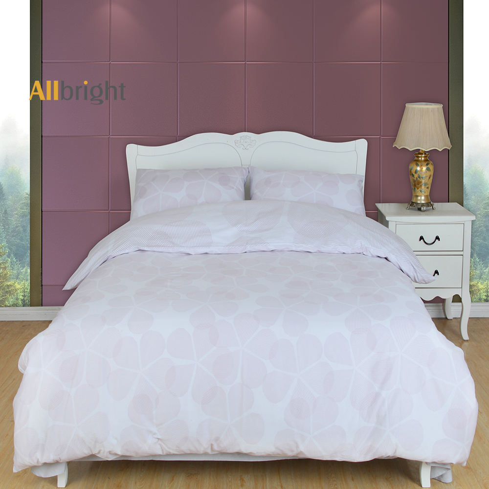 ALLBRIGHT classic home textile 100% cotton queen bed cover