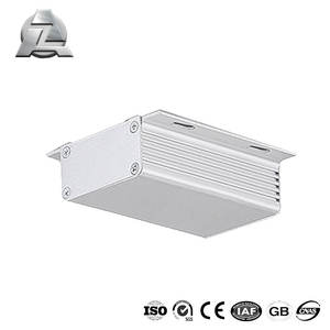 24.6*70.7*80 mm ZJD-E1056 electronics CNC aluminium box case enclosure profile extrusion