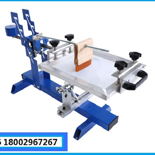 silk screen manual cylindrical round printer/screen printing machine for plastic/paper cup and bottle