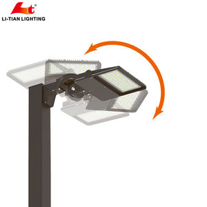 DLC ETL Waterproof IP66 Roadway LED Outdoor area Parking Lot shoebox Street Light