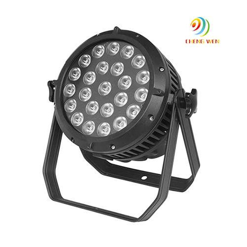 LED Waterproof Par Light 12W*24pcs RGBW 4 in 1 LED Par Can Light