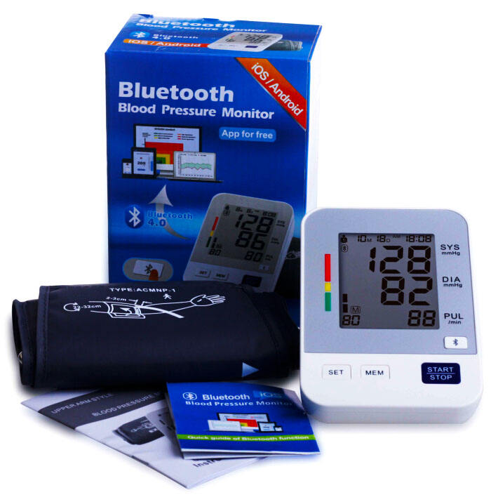 Medical bluetooth exact same 5 color indications as the American Heart Association