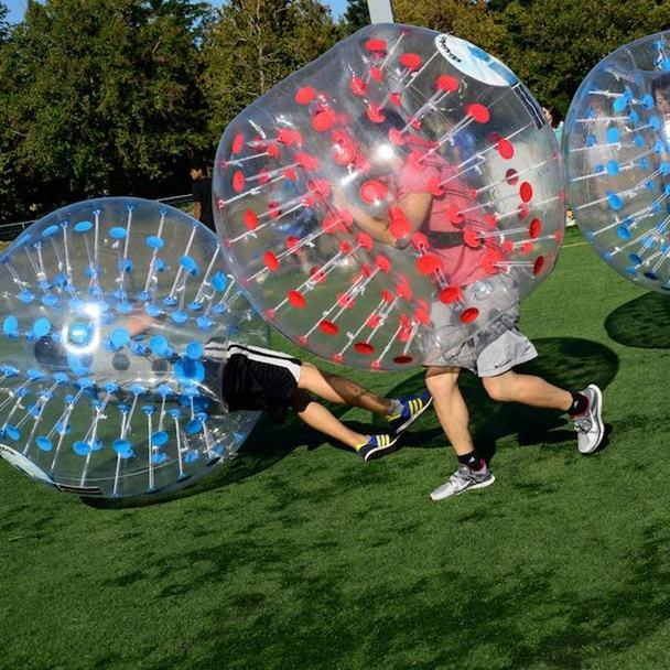 Factory price human inflatable bumper ball, bubble soccer, bubble football for sale