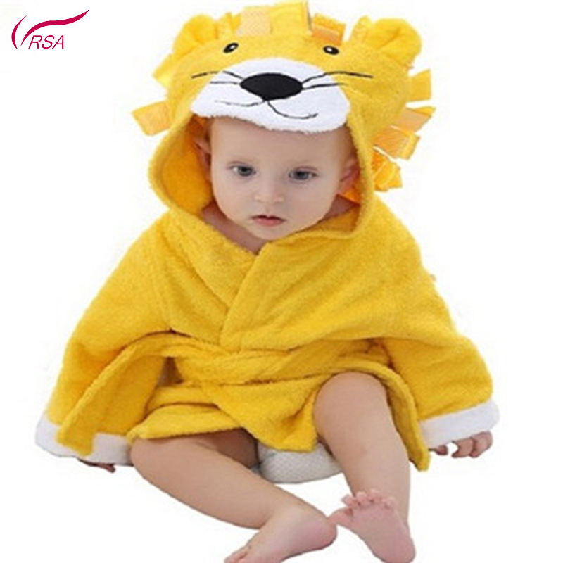 Animal Modeling Hooded Baby Bathrobe 16 Designs Cartoon Baby Spa Towel Character Kids Bath Beach Towels for Baby