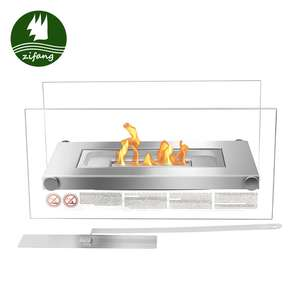 High quality wholesale tabletop metal bio ethanol fire pit outdoor fireplace
