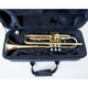 Bb Tone Gold Lacquer Trumpet with case OEM Brasswind instrument